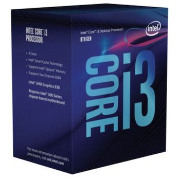 CPU INTEL CORE I3-8100 3.6GHZ 6MB SOCKET S1151