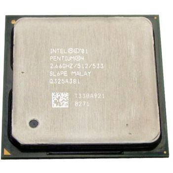 CPU INTEL S478 P4 SL66R REACONDICIONADO SIN DISIP