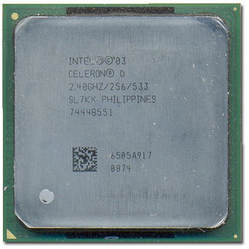 CPU INTEL S478 CELERON D SL7KX REACON.SIN DISIP