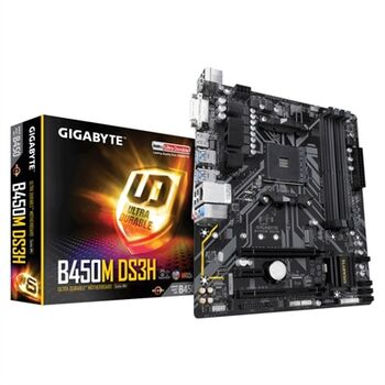 PLACA BASE GIGABYTE B450M DS3H AM4 RYZEN 4XDDR4