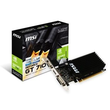 VGA PCIE MSI NVIDIA GT710 1GD3H 1GB DDR3 LP