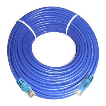 CABLE RED UTP RJ45 CAT5E BOBINA 100M SATYCON AZUL