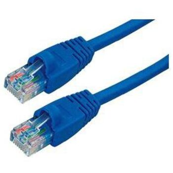 CABLE RED UTP RJ45 CAT6E 1M SATYCON AZUL