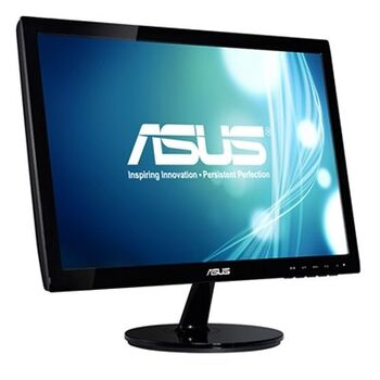 "MONITOR LED 18.5"" ASUS VS197DE VGA 5MS VESA NEGRO"