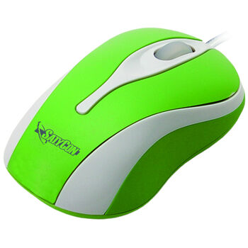 RATON USB OPTICO RUEDA SCROLL 3D VERDE