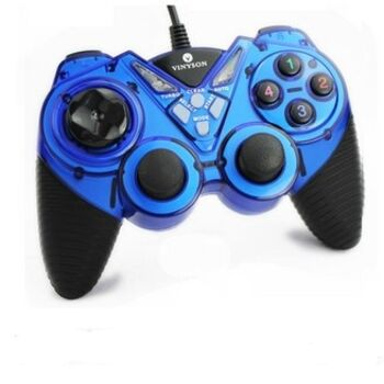 MANDO PC Y PS3 USB ULTRADUAL AZUL/NEGRO