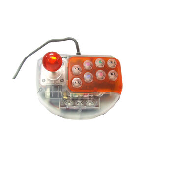 Z-OUTLET JOYSTICK PS2 COLORES TRANSPARENTES