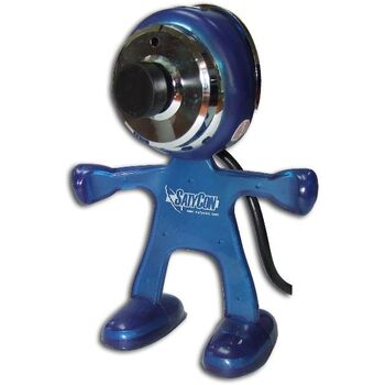WEBCAM USB2.0 MARCIANO 1.3 MPX AZUL