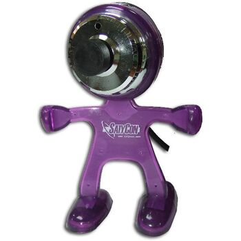 WEBCAM USB2.0 MARCIANO 1.3 MPX MORADO