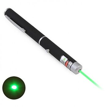 PUNTERO LASER EDUCATIVO VERDE 530nm 1mw