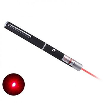 PUNTERO LASER EDUCATIVO ROJO 650nm 1mw