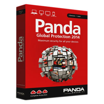 ANTIVIRUS PANDA GLOBAL PROTECTION 2014 3PCS