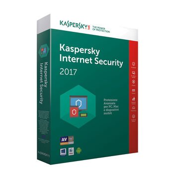 ANTIVIRUS KASPERSKY 2017 INTERNET SECURITY MULT 1U