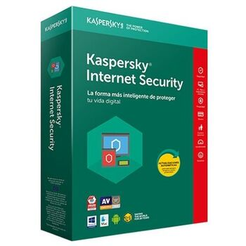 ANTIVIRUS KASPERSKY INTERNET SECURITY 2018 3L 1AÑO