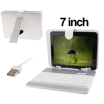 FUNDA CON TECLADO TABLET 7
