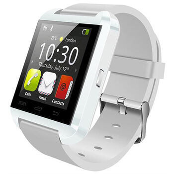 SMARTWATCH RELOJ INTELIGENTE U8 BT3.0 BLANCO 1.44