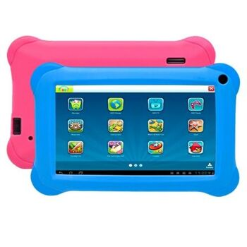 "TABLET INFANTIL 7"" DENVER BLUE PINK QC 1GB 8GB A81"