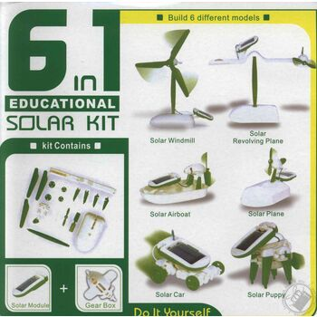 KIT EDUCATIVO SATYCON SOLAR 6 EN 1