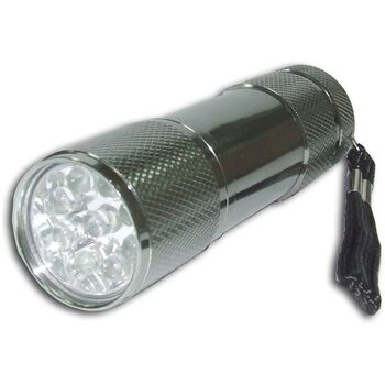 MINI LINTERNA CHROMO DE 9 LEDS SATYCON