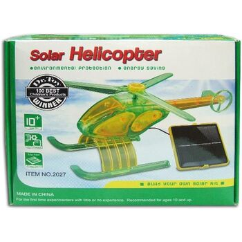 KIT EDUCATIVO SATYCON HELICOPTERO SOLAR