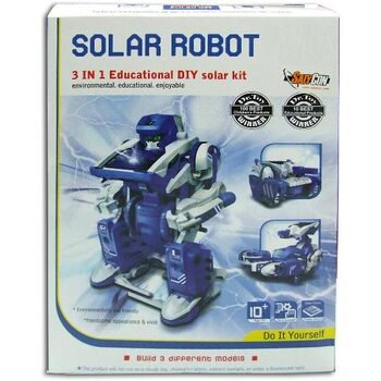KIT EDUCATIVO SATYCON ROBOT SOLAR 3 EN 1