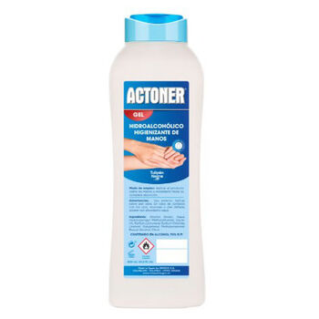 GEL HIDROALCOHOLICO ACTONER 600ML CAJA 12U.