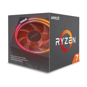 PROCESADOR CPU AMD RYZEN 7 2700X BOX SOCKET AM4