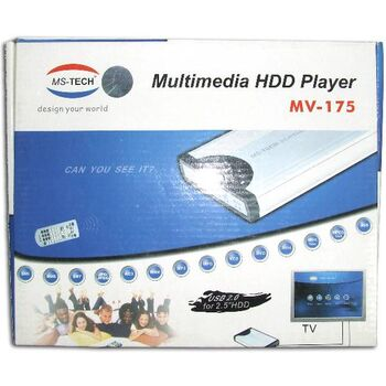 CAJA REPRODUCTORA MULTIMEDIA MSTECH MV-175 IDE 2,5