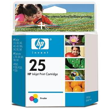 TINTA COLOR HP Nº. 25 ORIGINAL