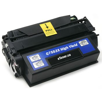 TONER NEGRO HP Q7553X RECICLADO 7000 COPIAS