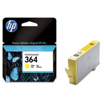 TINTA COLOR HP Nº. 364 AMARILLO ORIGINAL CB32