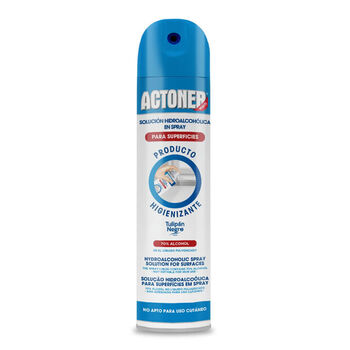 LIMPIADOR HIDROALCOHOLICO SPRAY ACTONER 400ML